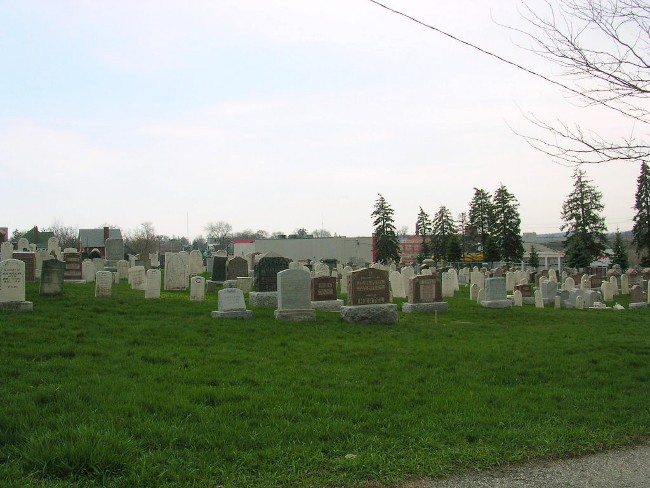 Ben Ebys First Mennonite Cemetery