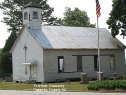 Fairview (Houcks Chapel Baptist Church) Cemetery