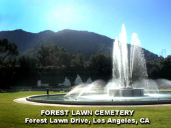Forest Lawn Memorial Park (Hollywood HIlls) Cemetery