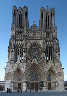Notre Dame Cathedral of St Pierre of Reims Cemetery