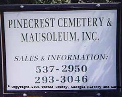 Pinecrest Cemetery and Mausoleum