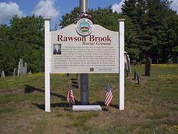 Rawson Brook Burial Ground Cemetery