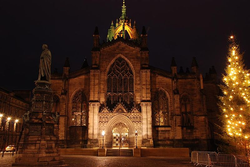St Giles Cathedral Cemetery