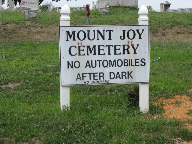 Mt Joy Mennonite Cemetery
